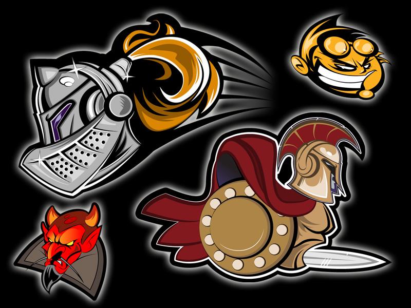 Sports Team Logos Sports Team Mascot Logos