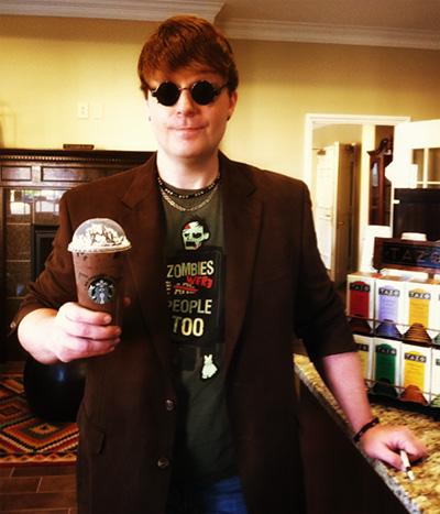 Gregbo Gets Starbucks at Easley Coffee Corner