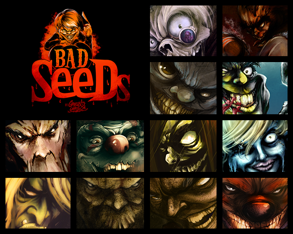 Gregbo Bad Seeds Collection Promo